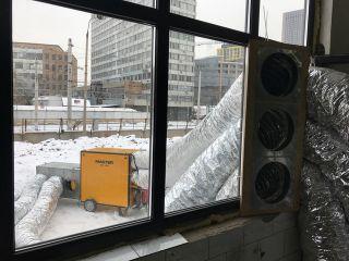 Эффективный обогрев с использованием системы рециркуляции воздуха